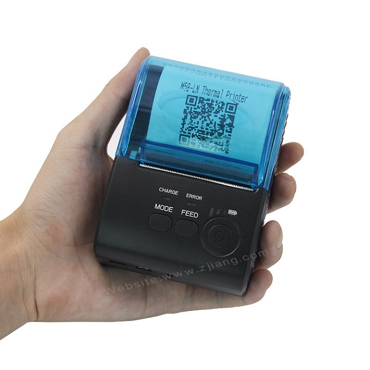 ZJ-5805 Portable Bluetooth Receipt Printer